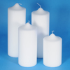 100mm diameter Church Pillar Candles