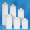 80mm diameter Church Pillar Candles